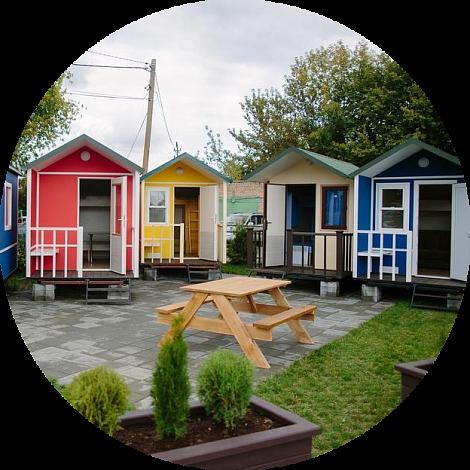 Мобильные дома — новый образ гостиничных номеров